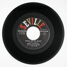 ERNIE MARESCA Down On The Beach/Mary Jane 7IN 1962 POP/ROCK VG++