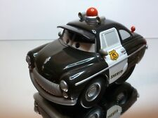 WALT DISNEY PIXAR - CARS USA SHERIFF RADIATOR SPRINGS - BLACK - GOOD CONDITION