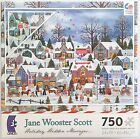 CEACO® 750pc JANE WOOSTER SCOTT • SEAKING HOLIDAY TREASURES • PUZZLE Jig Saw