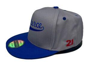 Santurce 21 Roberto Clemente Puerto Rico 5 Panel SnapBack Hat