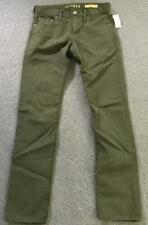 Nwt Boys GapKids 1969 Olive Green Pants Size 16 Slim with Adjustable Waist