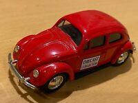 Lledo Promotional Diecast Model Toy Car - Red Volkswagen VW Beetle - VNM