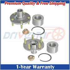 Pair(2) New FRONT Wheel Hubs & Bearings for Escape Tribute Mariner 5 Lug