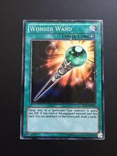 YUGIOH WONDER WAND COMMON GOOD CONDITION MIXED SETS MIXED EDS