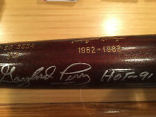 GAYLORD PERRY LIMITED EDITION CY YOUNG BAT w/ STATS. PSA Auto w HOF Inscribed.