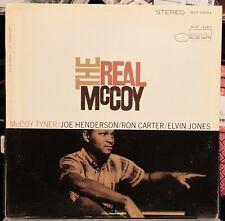 MCCOY TYNER THE REAL MCCOY BLUE NOTE LIBERTY OG STEREO LP CLEAN!