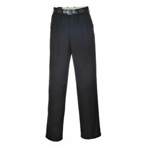sUw Mens London Modern Quality Poly-Viscose Trousers