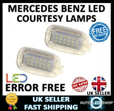 MERCEDES BENZ S CLASS W221 WHITE SMD LED BOOT TRUNK LAMPS INTERIOR UPGRADE BULBS