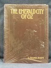THE EMERALD CITY OF OZ  L. FRANK BAUM Easton Press Leather HC Sealed Gold