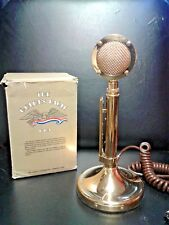 1976 ASTATIC GOLDEN EAGLE D-104 MICROPHONE 18K GOLD PLATED W/ BOX