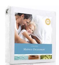 Mattress Zippered Protector Encasement Bed Bug Water Proof Bedding Sheet Cover