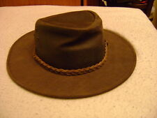 Leather exlusively for Oxford Blue cowboy hat cap XL 58/59 cm