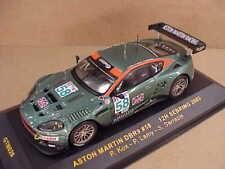 IXO #GTM026 1/43 Diecast Aston Martin DBR9, '05 Spa Francorchamps, LeasePlan #28