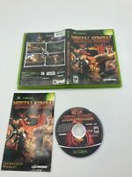 Microsoft Xbox CIB Complete Tested Mortal Kombat: Shaolin Monks Ships Fast