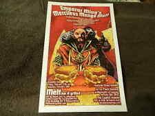 "2/2012 ""Emperor Ming's Merciless Mongo Melt"" MELT BAR & GRILLED Poster"
