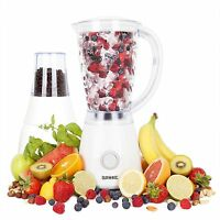 Duronic BL4 White 1.5 Litre Jug Blender and Multi-Mill with 2 Speed Function
