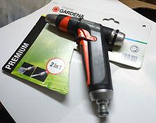 Gardena 8101 Premium 2 in 1 Metal Garden Spray Gun Nozzle