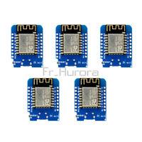 5PCS WeMos D1 Mini ESP8266 ESP12 NodeMcu Lua WiFi Module Development Board