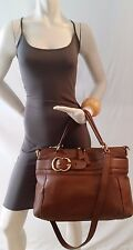 AUTHENTIC GUCCI  'RIDE'  MEDIUM TOP HANDLE LEATHER BAG RRP $2560 AU