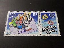 FRANCE 2000, timbre 3365, 3° MILLENAIRE, oblitéré, VF STAMP