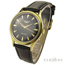 LONGINES VINTAGE 10K GOLD FILLED AUTOMATIC WRISTWATCH DATING CIRCA 1959