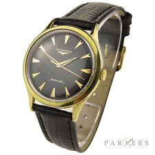 Reloj de pulsera Longines Vintage 10K oro lleno de automático que data de alrededor de 1959