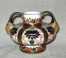 19th Century Royal Crown Derby Old Imari Urn