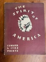 Currier & Ives Art Prints The Spirit of America 1930 Art History