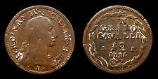 """pci1078)  Napoli Ferdinando IV Cavalli 12 1791 """"Punto Compasso sotto l'orecchio"""""""