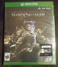 Middle earth: Shadow of War XBOX ONE NEW! FANTASY DRAGON, SOLDIER DARK LORD