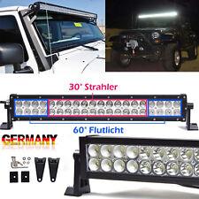 """12V LED Arbeits Scheinwerfer 21""""inch Auto Offroad Lichtbalken Strahler Flutlicht"""