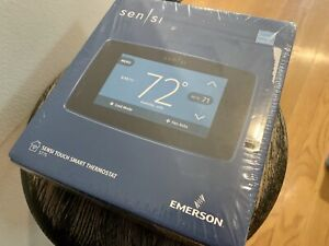 Emerson Sensi Touch Wifi Smart Thermostat ST75 - Black - NEW