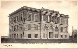 Postcard Training School Building State Normal School in Emporia, Kansas~133249