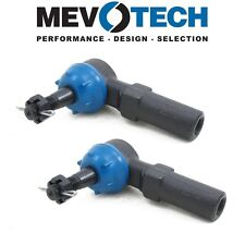 For Cadillac Oldsmobile Set of 2 Front Outer Tie Rod Ends Mevotech MES3238RL