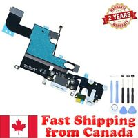 White Charging Port Headphone Audio Jack Flex for iPhone 6 A1549 A1586 A1589