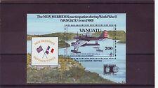 Vanuatu-sgms596 MNH 1992 cinquantesimo anniv scoppio della guerra del Pacifico