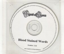 (HN494) Beyond All Reason, Blood Stained Words - 2007 DJ CD