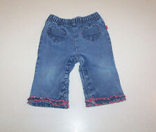 Infant Girl's Old Navy Blue Denim Cotton Jeans 6-12 Months