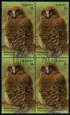 2016 Rufous Owl Ninox Rufa Block Fine Used Stamps Australia