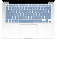 "UNIK CASE-Silicone Keyboard Cover for Macbook Pro 13"" 15"" 17""Unibody-Light Blue"