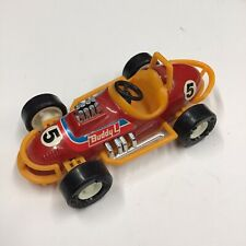 "5"" Buddy L 1970's Vintage Open Wheel Sprint Race Car #5 Hard Plastic 1:32 Scale"