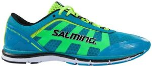 Salming Speed Mens Running Shoes Blue Natural Minimalist Run Trainers UK 11 11.5