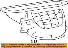 Jeep CHRYSLER OEM Grand Cherokee Evaporator Heater-Air Inlet Case 68017816AB