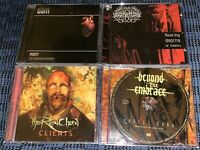Death Metal. DAM. SCENT OF FLESH. BEYOND THE EMBRACE. THE RED CHORD. 4 VG CD's