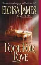 Fool for Love, Eloisa James, Good Condition, Book