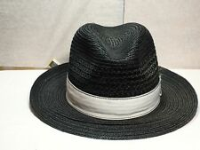 With Tag Stacy Adams SA 353 Fedora Men s Straw Hat 642f20e44aa1