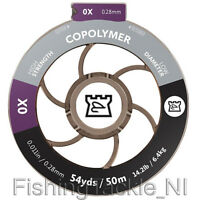 Hardy Copolymer Tippet Material, Low Diameter Fly Fishing Tippet Line 50m Spools
