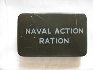 ORIGINAL WWII NAVAL ACTION RATION TIN