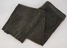 BRIONI SPORT Olive Green Cotton Corduroy Pants Trousers 36x30
