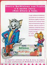 Pubblicità Advertising 1993 Belgioioso YOMO  con Frutti di bosco